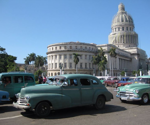 cars, love, and cuba image