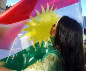 kurdish, kurdistan, and girl image