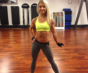 abs, blondie, and body image