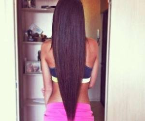 hair, long, and sexy image