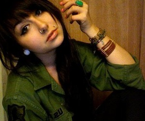 piercing, girl, and cute image