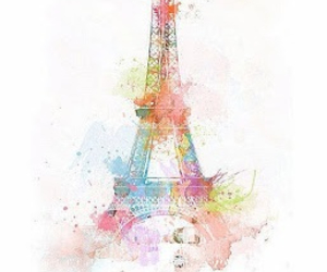 colorful, eiffel tower, and french image