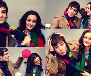 gossip girl and chuck i blair image
