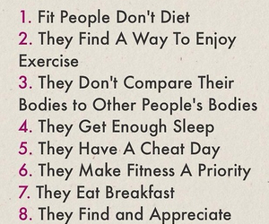 fit, fitness, and healthy image