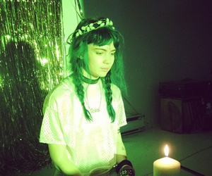 grimes, green, and claire boucher image