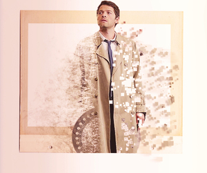 angel, supernatural, and castiel image