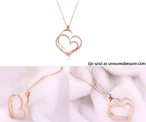 beautiful, sweet, and necklace image