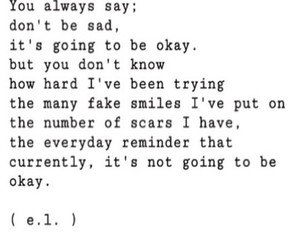 quote, sad, and scars image