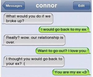 text, message, and couple image