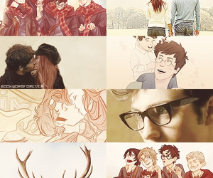 harry potter, the marauders, and james potter image