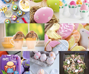 happy easter my collage image