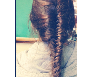 braid, french, and school image
