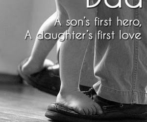love, dad, and hero image