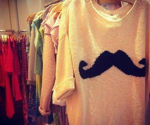 fashion, moustache, and clothes image