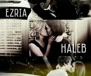 ezria, spoby, and pretty little liars image