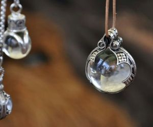 necklace and crystal image