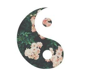 flowers, indie, and yang image