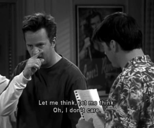 friends, funny, and chandler image