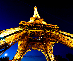 beautiful, france, and night image