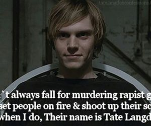 ahs, american horror story, and tate langdon image