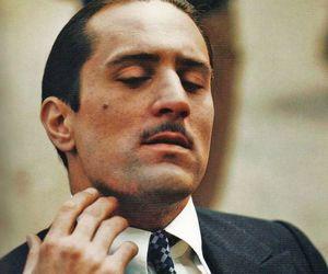 robert de niro, don vito corleone, and godfather part ii image
