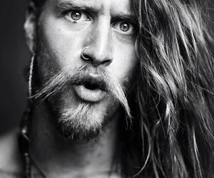 beard, beautiful, and charming image