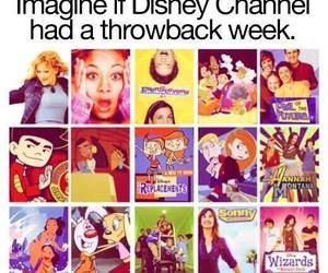 disney, throwback, and disney channel image