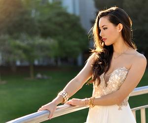 beautiful, girl, and promdress image