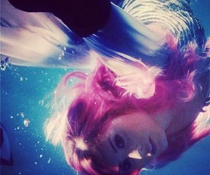 beauty, demi, and underwater image