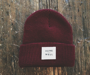 beanie, hipster, and red image