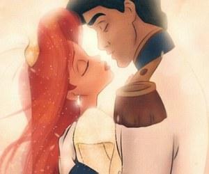 couple, disney, and disney princess image