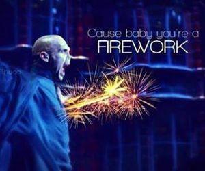 firework, harry potter, and voldemort image