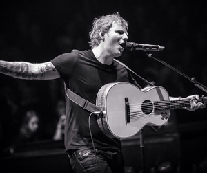 black and white, ed, and sing image