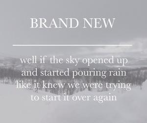Lyrics, pouring rain, and song image