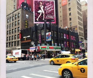 billboard, candies, and nyc image