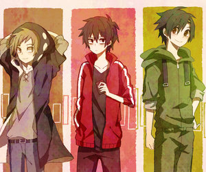 anime, boys, and kano image