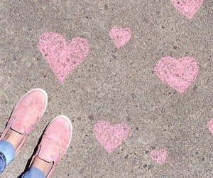 pink, shoes, and steve madden image