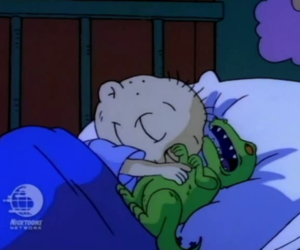 rugrats, cartoon, and tommy image