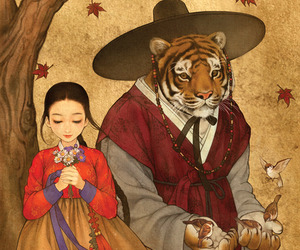 beauty and the beast, art, and disney image