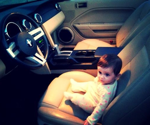 baby, car, and love image