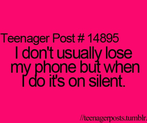 teenager post and phone image