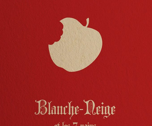apple, blanche neige, and disney image