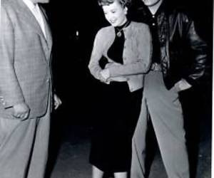 barbara stanwyck, clark gable, and old hollywood image