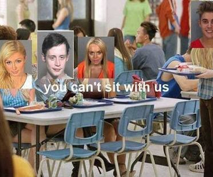 funny, lindsay lohan, and mean girls image
