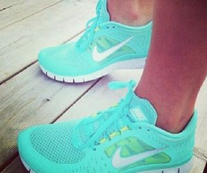 sport, nike, and blue image