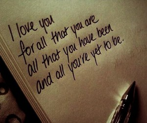 couple, quote, and I Love You image