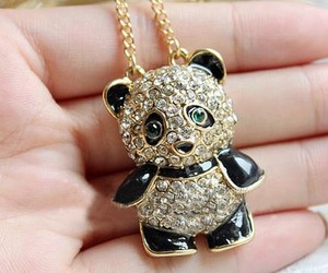 panda and necklace image