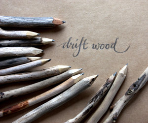 pencil and drift wood image