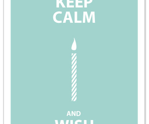 keep calm and wish image