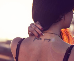 ink, neck, and nikon image